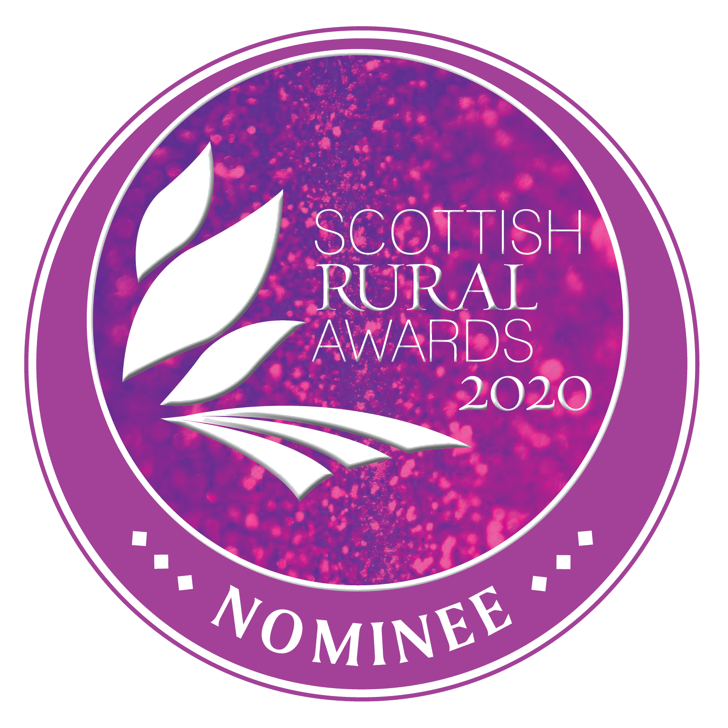 Scottish Rural Awards Nominee logo